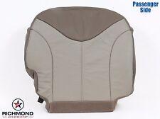 2001 GMC Sierra C3 Denali 4X4 AWD -Passenger Side Bottom Leather Seat Cover Tan