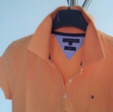 Poloshirt TOMMY HILFIGER Damen Kurzarm Slim Fit Orange Gr. S