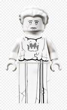 Lego Figure White Stone Statue - nex121