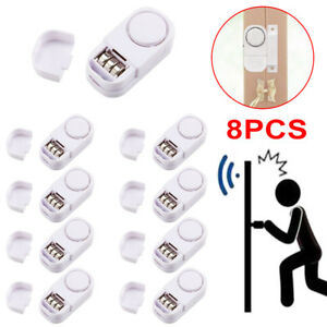 Wireless Window Door Burglar Security Alarm  System Sensor Home Security Safety