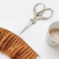 European Vintage Bronze Embroidery Sewing Scissors Thimble Needle Kit Tools