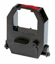Amano PIX10, PIX25, PIX55, PIC75, PIX95 Compatible Ribbon Cartridge BLACK-RED