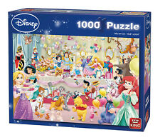 "King 5264 ""disney Happy Birthday"" Puzzle 1000-piece Disney Characters"