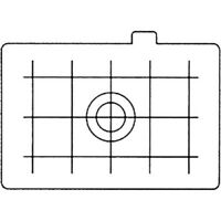 New CANON Ec-D Focusing Screen - Matte with Grid - for for EOS 1, 1N, 1N-RS, 1V,