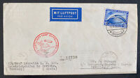 1930 Germany Graf Zeppelin LZ127 Flight Cover to Seville Spain Sc#C38