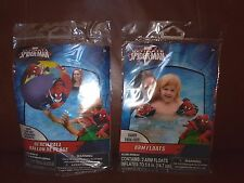 Ultimate Spider-Man Beach Ball and Arm Floats Set