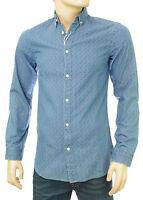 JACK & JONES by PREMIUM chemise jeans slim fit homme JJ PRINTED light DENIM