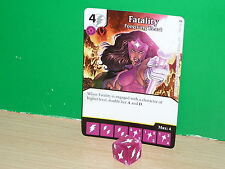 DICE MASTERS DC War of Light Rare - 113 Fatality