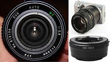 28mm f/2,8 +BAGUE SONY NEX α9 α5 αA7 7R 7S II III α6500 α5100 α3500 VG20 E Mount