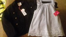 BRAND NEW - BUNDLE OF GIRLS CLOTHES - 4-5 YRS - RIVER ISLAND ETC - s.box