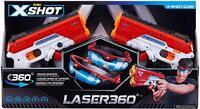 Zuru 36280 X-Shot Laser360 Double Laser Blaster Pack (2 Laser Blasters, 2