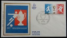 53H* Enveloppe 1er / Premier Jour FDC 1977 (n°1940 / Coupe de France FOOTBALL)