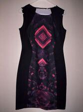 Viscose All Seasons Geometric Dresses for Women