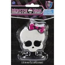 "Wilton  MONSTER HIGH BIRTHDAY CANDLE ""Ghouls Rule!"" 3.,25"" High Party Theme"