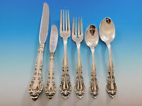 Baronial New by Gorham Sterling Silver Flatware Set for 8 Service 52 Pieces