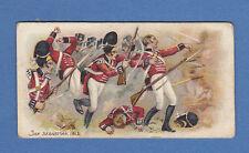 MILITARY - FAULKNER - RARE GALLANT GRENADIERS CARD  -  SAN  SEBASTIAN  -  1902