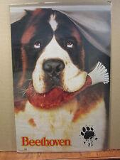vintage Beethoven original St Bernard movie poster dog 10055