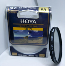 58mm Hoya Circular Polarizing CIR-PL CPL FILTER for Canon Sony Nikon Lenses