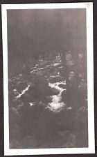 VINTAGE 1922 ON TRAIL TO FERN LODGE MT. WILSON LOS ANGELES CALIFORNIA OLD PHOTO