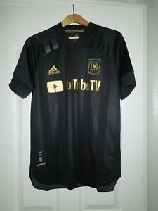 NWT LA FC 2020 Adidas Player Issue Authentic Shirt Size Medium MLS Soccer