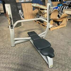 Technogym Selection Olympic Flat Bench Press - Commercial Gym Equipment