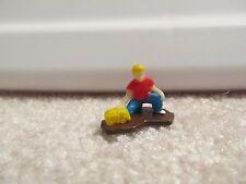 1/64 Ertl Farm Country boy playing figurine custom