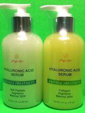 6oz(2B) Hyaluronic Acid Serum LMW Silk Peptide Collagen Matrixyl Argireline EGCG