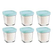 6 Pots de yaourt pour Yaourtiere - SEB Xf100101
