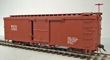 RIO GRANDE SOUTHERN BOXCAR On3 AMS RTR BOX STORED *L@@K* N/R