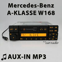 Mercedes Special BE2210 AUX-IN MP3 W168 Radio A-Klasse V168 Kassettenradio RDS