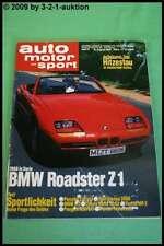 AMS Auto Motor Sport 17/87 BMW Z1 M3 Toyota MR2 Opel Omega 3000 Volvo 76
