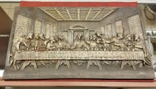NICE Antique Cast Iron Depiction of THE LAST SUPPER Limited Edition Custom Art!!