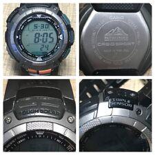 Casio Pathfinder Module 2894 PAG-80 Triple Sensor Tough Solar Men's Watch