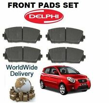 FOR KIA PICANTO 1.0 12V 3/2011--> NEW FRONT BRAKE DISC PAD SET