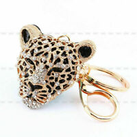 Rhinestone Keyring Charm Pendant Purse Bag Key Ring Chain Keychain Gift