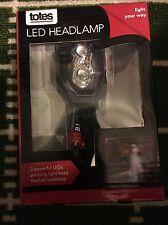 Totes LED Headlamp Brand New