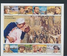 XC15286 Nevis world war II military XXL sheet MNH