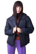 P.A.R.O.S.H. Windbreaker Jacket Size XL Padded Full Zip Packable Hooded RRP €430