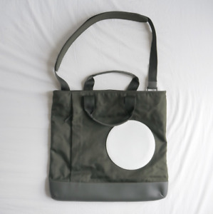 Dunhill Mens Olive Green Radial Messenger Tote Bag Brand New £750