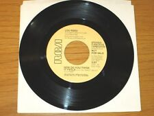 """PROMO 70s ROCK 45 RPM - LOU REED - RCA 0172 - """"HOW DO YOU THINK IT FEELS"""""""