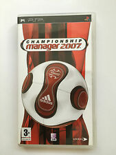 Championship Manager 2007 For Sony PSP (New)