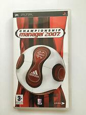 Campeonato Manager 2007 para Sony PSP (Nuevo)