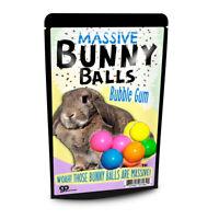 Massive Bunny Balls Gum - Assorted Gumballs - Funny Gag Gift Stocking Stuffer