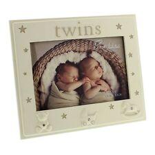 Bambino by Juliana Cornice foto con i Gemelli Baby Shower regalo ricordo
