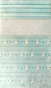 """Craft Creations Christmas Backing papers, 24 Snowmen Designs - 6"""" x 6""""- 3 x 8"""