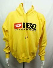 Diesel Hoodie Not Cool Anymore Sweatshirt Yellow Men's Large