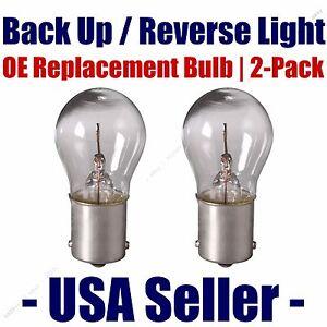 Reverse/Back Up Light Bulb 2pk - Fits Listed Saturn Vehicles - 7506
