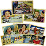 "10pk Random Anne Taintor 4x6"" Magnetic Postcard Set Refrigerator Funny Comic Art"