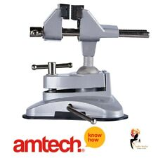 Amtech Table Vice Clamp Suction Strong Cup Base Hobby Craft Electronics D3425