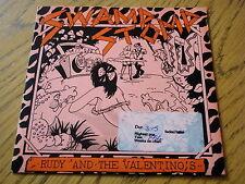 "RUDY & THE VALENTINOS - SWAMP STOMP  7"" VINYL PS"